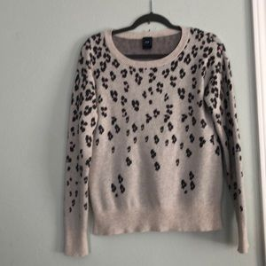 Gap Leopard Print Sweater